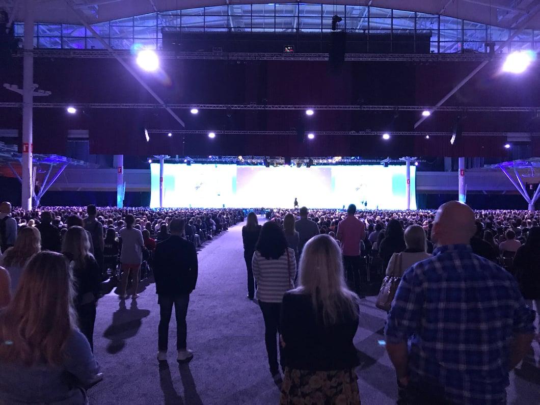 #INBOUND2017 main stage