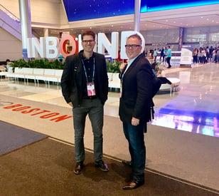 Mark Glucki and Scott Lanaway at #INBOUND2017
