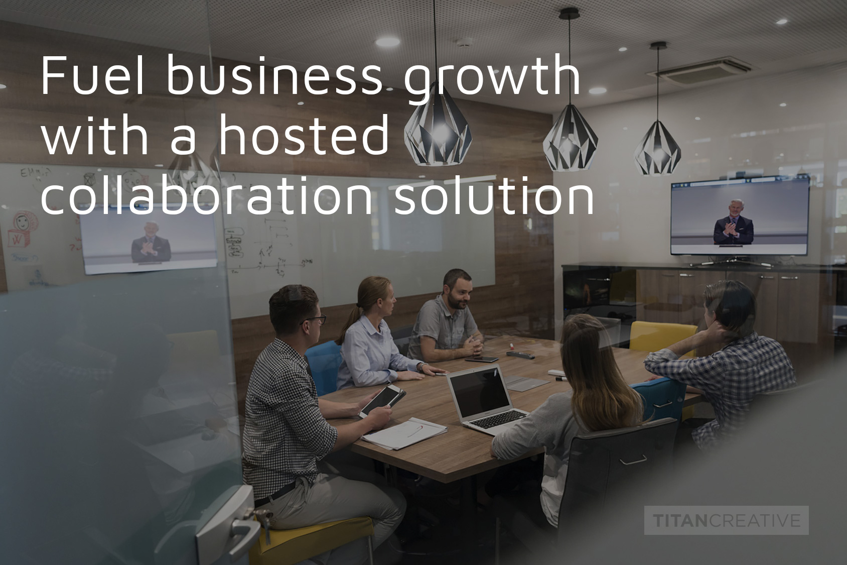 Fuel business growth with a hosted collaboration solution