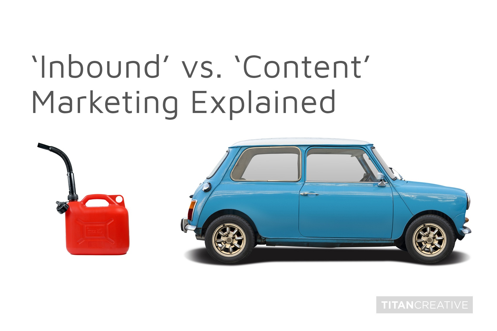 What is the difference between Inbound and Content Marketing?